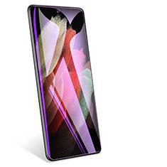 Pellicola in Vetro Temperato Protettiva Anti Blu-Ray Proteggi Schermo Film per Samsung Galaxy S21 Ultra 5G Chiaro