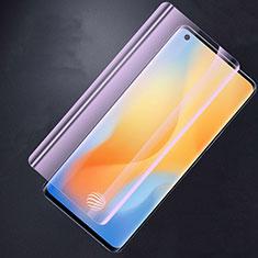 Pellicola in Vetro Temperato Protettiva Anti Blu-Ray Proteggi Schermo Film per Vivo X50 Pro 5G Chiaro