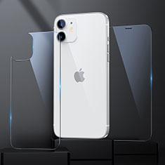 Pellicola in Vetro Temperato Protettiva Fronte e Retro Proteggi Schermo Film per Apple iPhone 12 Mini Chiaro