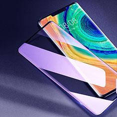 Pellicola in Vetro Temperato Protettiva Integrale Anti Blu-Ray Proteggi Schermo Film F02 per Huawei Mate 30 Pro 5G Nero