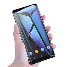 Pellicola in Vetro Temperato Protettiva Integrale Anti Blu-Ray Proteggi Schermo Film F02 per Samsung Galaxy Note 9 Bianco