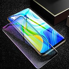 Pellicola in Vetro Temperato Protettiva Integrale Anti Blu-Ray Proteggi Schermo Film F02 per Xiaomi Redmi Note 9 Nero