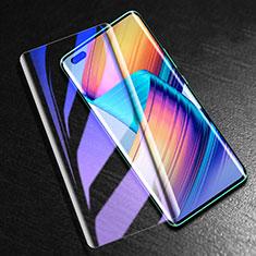 Pellicola in Vetro Temperato Protettiva Integrale Anti Blu-Ray Proteggi Schermo Film K02 per Huawei Nova 7 Pro 5G Nero