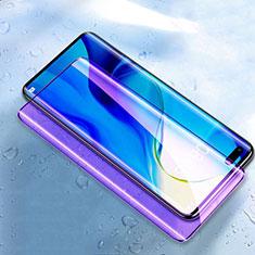 Pellicola in Vetro Temperato Protettiva Integrale Anti Blu-Ray Proteggi Schermo Film K03 per Huawei Nova 7 Pro 5G Nero
