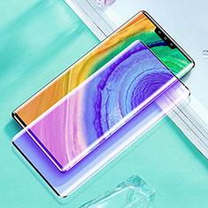 Pellicola in Vetro Temperato Protettiva Integrale Anti Blu-Ray Proteggi Schermo Film per Huawei Mate 30E Pro 5G Nero