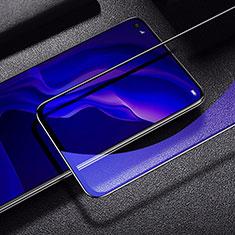 Pellicola in Vetro Temperato Protettiva Integrale Anti Blu-Ray Proteggi Schermo Film per Huawei Nova 6 SE Nero