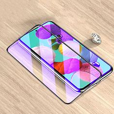 Pellicola in Vetro Temperato Protettiva Integrale Anti Blu-Ray Proteggi Schermo Film per Samsung Galaxy M51 Nero
