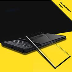 Pellicola in Vetro Temperato Protettiva Integrale Proteggi Schermo Film F02 per Blackberry Priv Nero