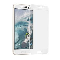 Pellicola in Vetro Temperato Protettiva Integrale Proteggi Schermo Film F02 per HTC 10 One M10 Bianco