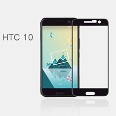 Pellicola in Vetro Temperato Protettiva Integrale Proteggi Schermo Film F02 per HTC 10 One M10 Nero