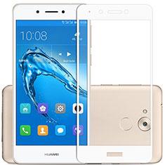 Pellicola in Vetro Temperato Protettiva Integrale Proteggi Schermo Film F02 per Huawei Enjoy 6S Bianco