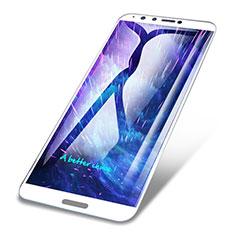 Pellicola in Vetro Temperato Protettiva Integrale Proteggi Schermo Film F02 per Huawei Enjoy 8 Plus Bianco