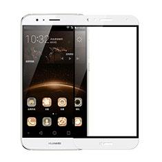 Pellicola in Vetro Temperato Protettiva Integrale Proteggi Schermo Film F02 per Huawei G7 Plus Bianco