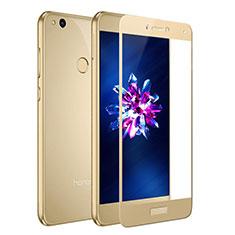 Pellicola in Vetro Temperato Protettiva Integrale Proteggi Schermo Film F02 per Huawei Honor 8 Lite Oro