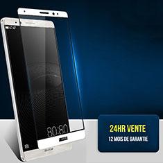 Pellicola in Vetro Temperato Protettiva Integrale Proteggi Schermo Film F02 per Huawei Mate 8 Bianco