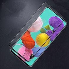 Pellicola in Vetro Temperato Protettiva Integrale Proteggi Schermo Film F02 per Samsung Galaxy A51 5G Nero