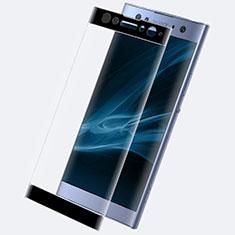 Pellicola in Vetro Temperato Protettiva Integrale Proteggi Schermo Film F02 per Sony Xperia XA2 Ultra Nero