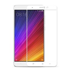 Pellicola in Vetro Temperato Protettiva Integrale Proteggi Schermo Film F02 per Xiaomi Mi 5S Plus Bianco