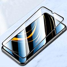Pellicola in Vetro Temperato Protettiva Integrale Proteggi Schermo Film F02 per Xiaomi Poco M3 Nero