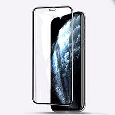 Pellicola in Vetro Temperato Protettiva Integrale Proteggi Schermo Film F03 per Apple iPhone 11 Pro Max Nero