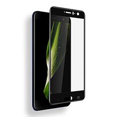 Pellicola in Vetro Temperato Protettiva Integrale Proteggi Schermo Film F03 per HTC U11 Nero