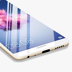 Pellicola in Vetro Temperato Protettiva Integrale Proteggi Schermo Film F03 per Huawei P Smart Bianco