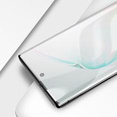 Pellicola in Vetro Temperato Protettiva Integrale Proteggi Schermo Film F03 per Samsung Galaxy Note 10 Plus Nero