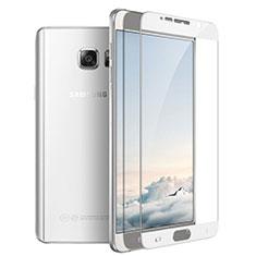 Pellicola in Vetro Temperato Protettiva Integrale Proteggi Schermo Film F03 per Samsung Galaxy Note 5 N9200 N920 N920F Bianco