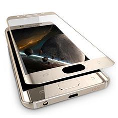 Pellicola in Vetro Temperato Protettiva Integrale Proteggi Schermo Film F03 per Samsung Galaxy Note 7 Oro