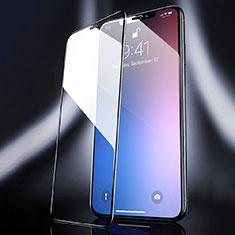 Pellicola in Vetro Temperato Protettiva Integrale Proteggi Schermo Film F04 per Apple iPhone 11 Pro Max Nero