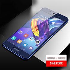 Pellicola in Vetro Temperato Protettiva Integrale Proteggi Schermo Film F04 per Huawei Honor 6C Pro Blu
