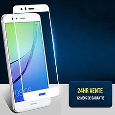Pellicola in Vetro Temperato Protettiva Integrale Proteggi Schermo Film F04 per Huawei Honor 8 Lite Bianco