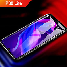 Pellicola in Vetro Temperato Protettiva Integrale Proteggi Schermo Film F04 per Huawei P30 Lite Nero