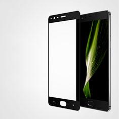 Pellicola in Vetro Temperato Protettiva Integrale Proteggi Schermo Film F04 per OnePlus 3T Nero