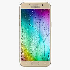 Pellicola in Vetro Temperato Protettiva Integrale Proteggi Schermo Film F04 per Samsung Galaxy A7 (2017) A720F Oro