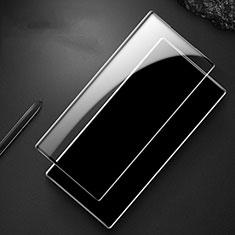 Pellicola in Vetro Temperato Protettiva Integrale Proteggi Schermo Film F04 per Samsung Galaxy Note 10 Plus Nero