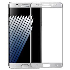 Pellicola in Vetro Temperato Protettiva Integrale Proteggi Schermo Film F04 per Samsung Galaxy Note 7 Bianco