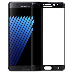 Pellicola in Vetro Temperato Protettiva Integrale Proteggi Schermo Film F04 per Samsung Galaxy Note 7 Nero