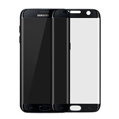 Pellicola in Vetro Temperato Protettiva Integrale Proteggi Schermo Film F04 per Samsung Galaxy S7 Edge G935F Nero