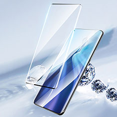 Pellicola in Vetro Temperato Protettiva Integrale Proteggi Schermo Film F04 per Xiaomi Mi 11 5G Nero