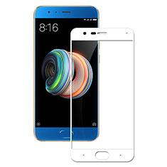 Pellicola in Vetro Temperato Protettiva Integrale Proteggi Schermo Film F04 per Xiaomi Mi Note 3 Bianco