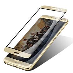 Pellicola in Vetro Temperato Protettiva Integrale Proteggi Schermo Film F05 per Huawei G9 Plus Oro