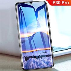 Pellicola in Vetro Temperato Protettiva Integrale Proteggi Schermo Film F05 per Huawei P30 Pro Nero