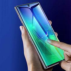 Pellicola in Vetro Temperato Protettiva Integrale Proteggi Schermo Film F05 per Samsung Galaxy Note 10 Nero