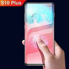 Pellicola in Vetro Temperato Protettiva Integrale Proteggi Schermo Film F05 per Samsung Galaxy S10 Plus Nero