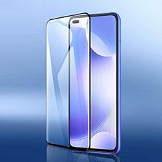 Pellicola in Vetro Temperato Protettiva Integrale Proteggi Schermo Film F05 per Xiaomi Redmi K30 5G Nero