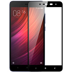Pellicola in Vetro Temperato Protettiva Integrale Proteggi Schermo Film F05 per Xiaomi Redmi Note 4 Nero