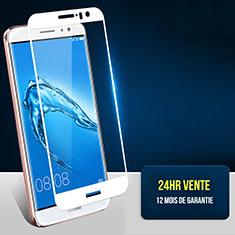 Pellicola in Vetro Temperato Protettiva Integrale Proteggi Schermo Film F06 per Huawei G9 Plus Bianco