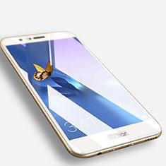 Pellicola in Vetro Temperato Protettiva Integrale Proteggi Schermo Film F06 per Huawei Honor V9 Bianco