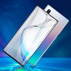 Pellicola in Vetro Temperato Protettiva Integrale Proteggi Schermo Film F06 per Samsung Galaxy Note 10 Plus Nero